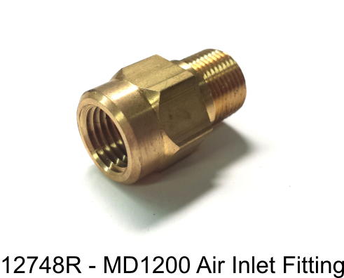 12748R - MD1200 Air Inlet Fitting