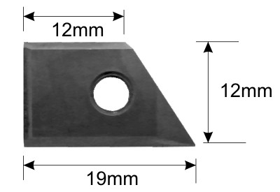 60 degree Replaceable Insert Vee cutter replacement blade specificationa