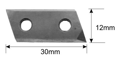 90 degree Replaceable Insert Vee cutter replacement blade specifications