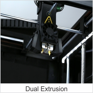 3d printer dual extrusion
